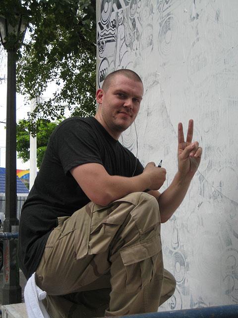 Tristan Eaton, Miami 2009