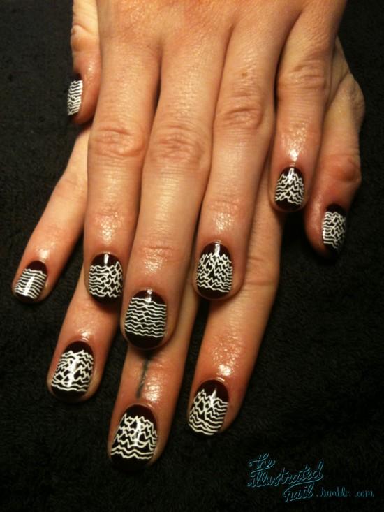 Joy Division nail art