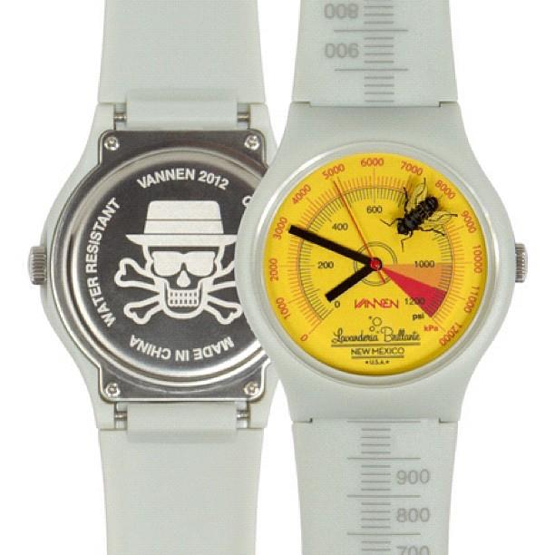 Breaking Bad watch by Tristan Eaton x Vannen Watches