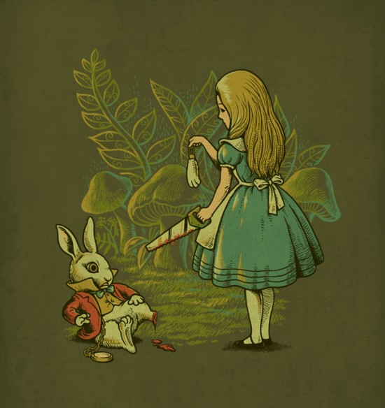 Alice's Lucky Rabbit's Foot  Ben6835
