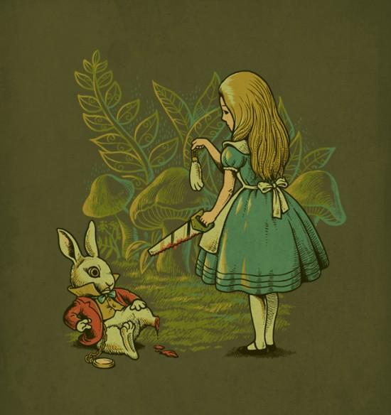 Alice's Lucky Rabbit's Foot © Ben6835