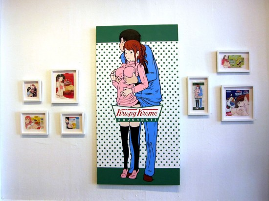 "from ""See Inside Box for Details,"" new work by Ben Frost at The Shooting Gallery, 2012"