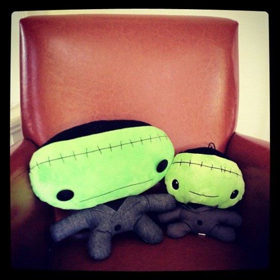 Cuddly Rigor Mortis: Frank and Frank
