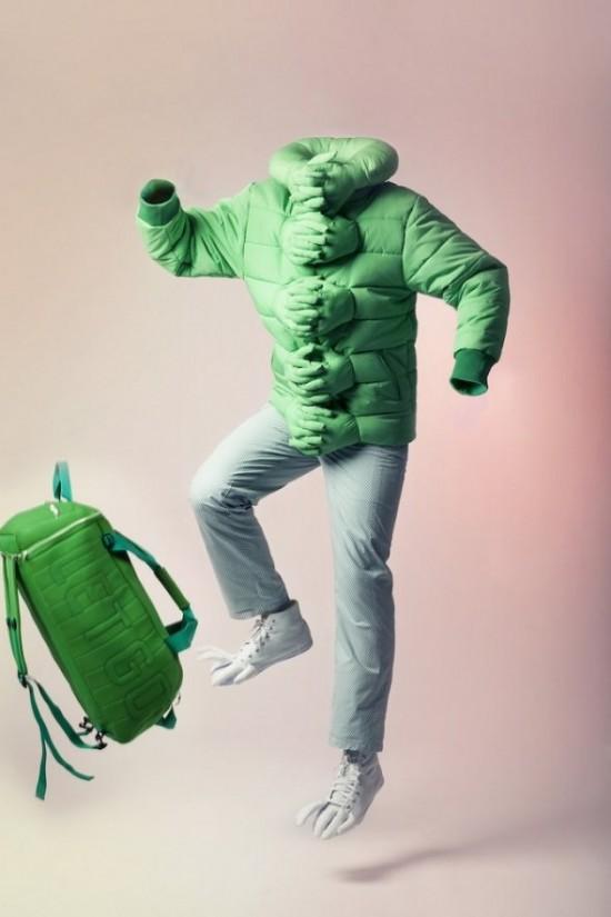 Hug Me Jacket by Si Chan