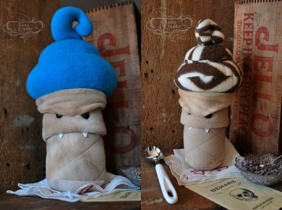 Plush iScreams by Lana Crooks