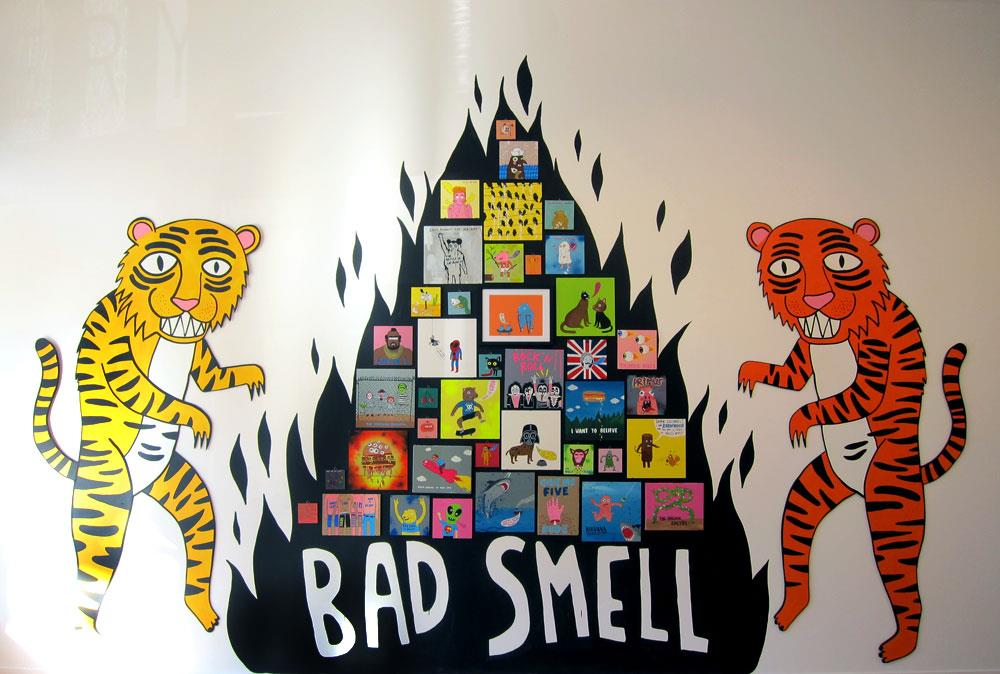 Bad Smell by Laurina Paperina