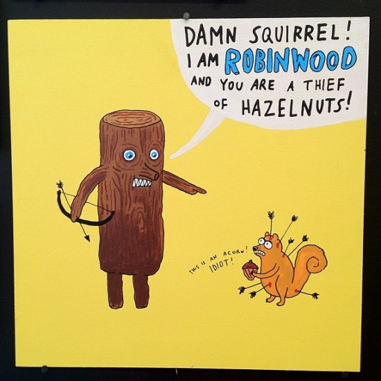 Damn Squirrel © Laurina Paperina