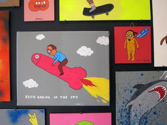 Keith Haring © Laurina Paperina