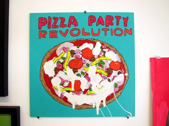 Pizza Party Revolution © Laurina Paperina
