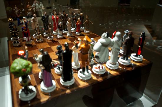 Maurizio Cattelan, Chess Set (2003)