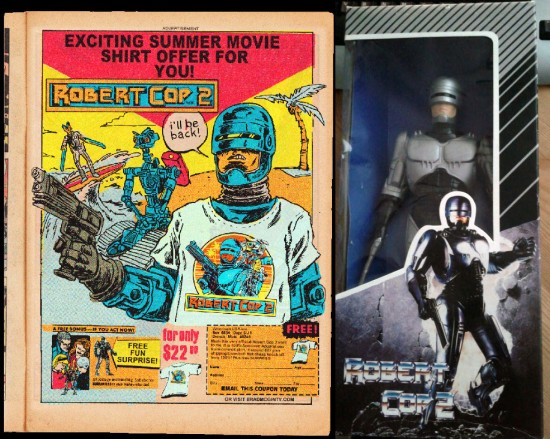 Robert Cop bootleg action figures