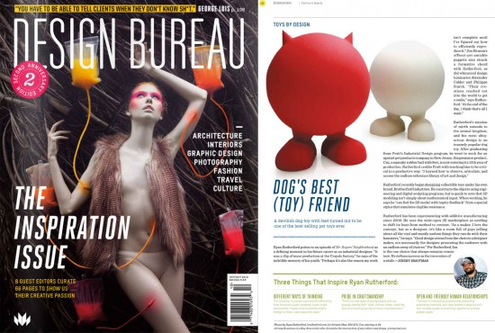 Design Bureau Magazine: Toys by Design: Brutherford Industries
