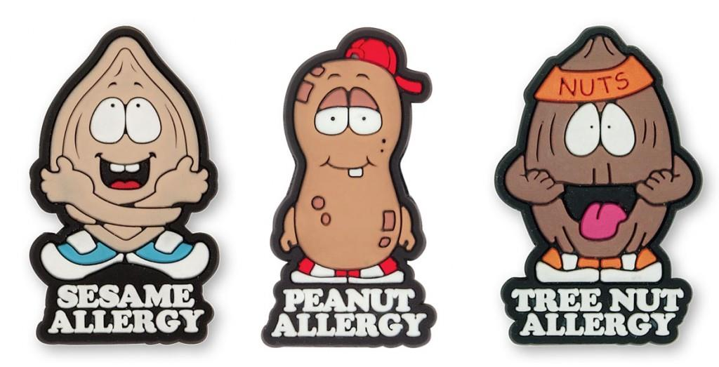 Allermates: cute character designs for allergic kids
