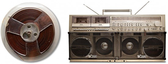 Tonight Show Audio Track (1962) & Boom Box (1980s)