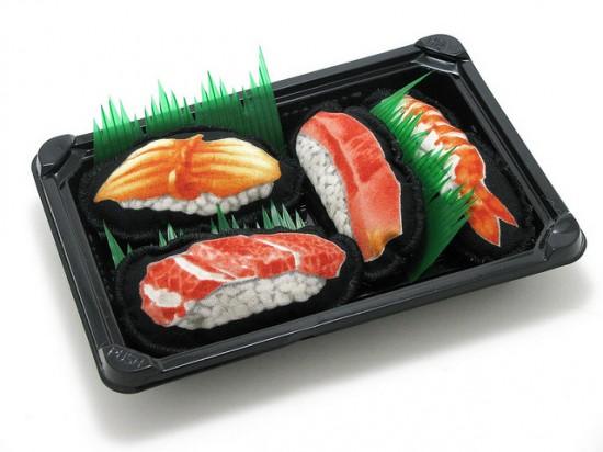 Cheeky Beastie sushi cat toys