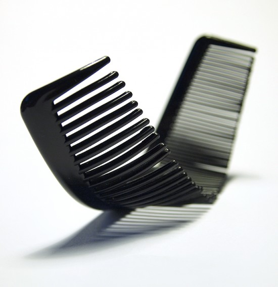 The Curl Comb, an Everyday Object by Jason Taylor