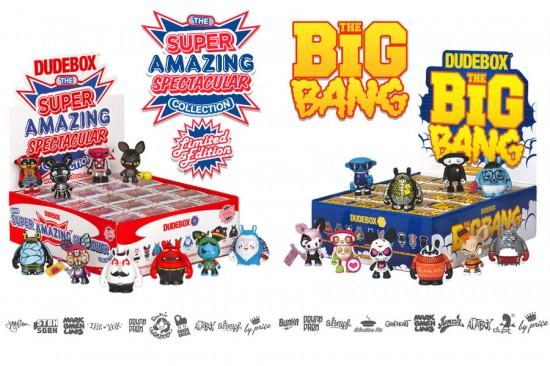Dudebox platform designer toys