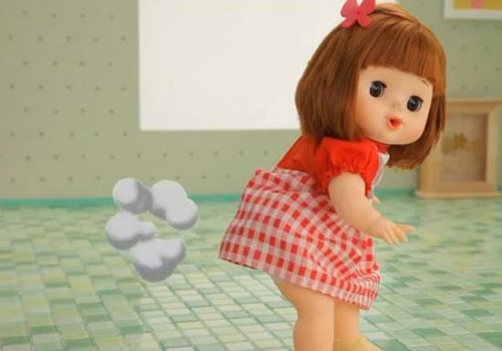 Korean Farting Baby Doll Toy