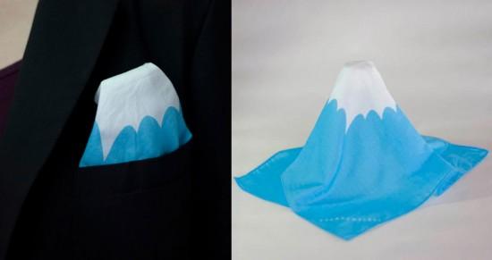 Mount Fuji Hankerchiefs