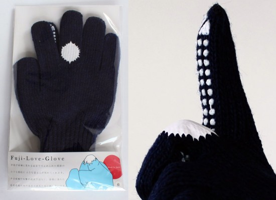 Mount Fuji Love Gloves