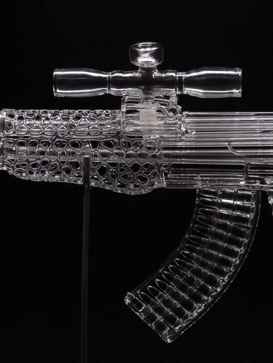 AK-47 (detail)  Robert Mickelsen