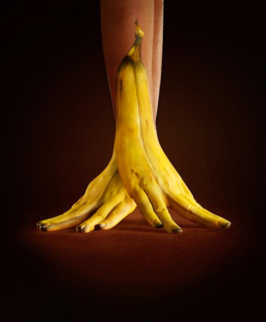 Banana Hands by Ray Massey