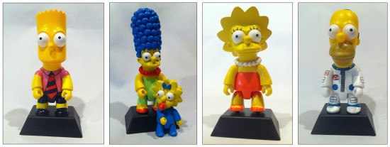Toy2R Simpsons prototypes