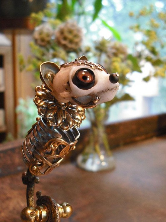 Slow Loris Sculpture (in progress) by Jessica Joslin