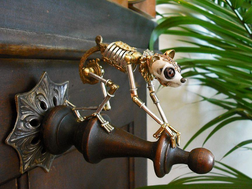 Slow Loris Sculpture by Jessica Joslin