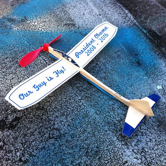 Kiosk Fly Guy Obama Plane