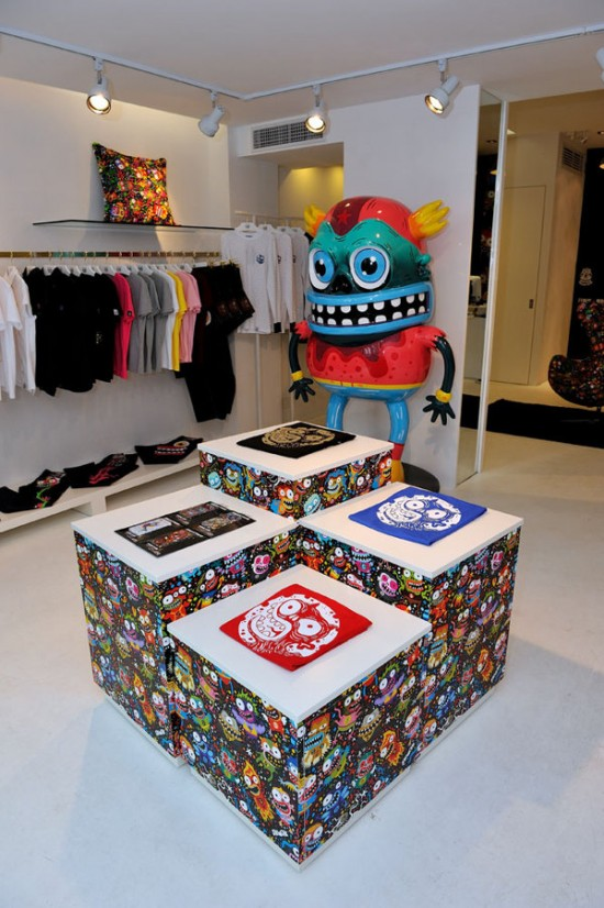 SKWAK x Tye Chen's lifestyle boutique in China