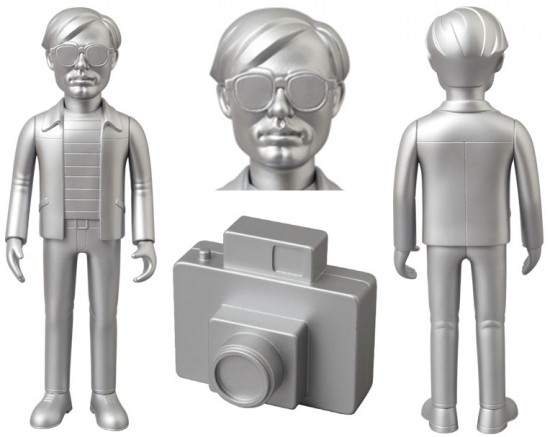 Andy Warhol VCD variant by Medicom
