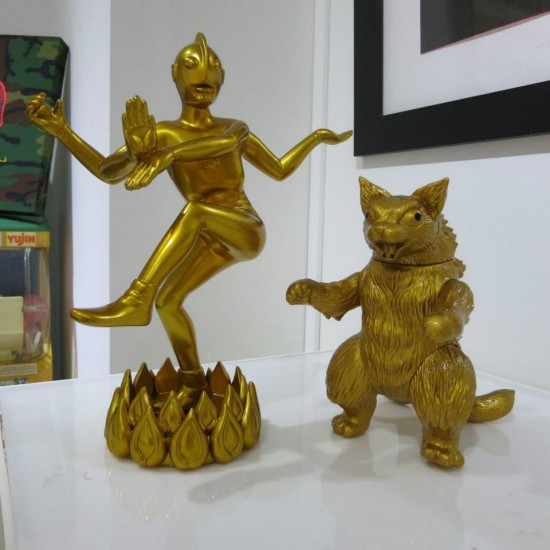 Dancing Gaia by Budi Nugroho with King Negora by Mark Nagata