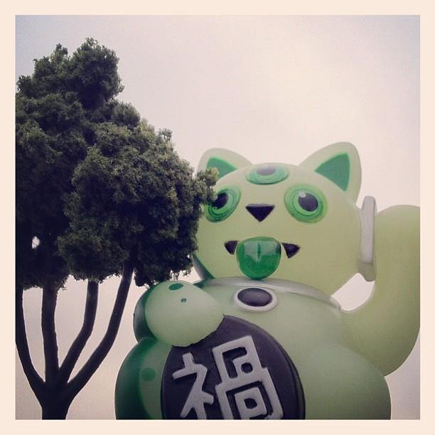 Jeremyriad Exclusive Little Misfortune Cat AKA JEREMYCAT Giant-cat-or-tiny-tree