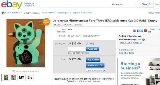 Jeremycat Flipped on eBay!