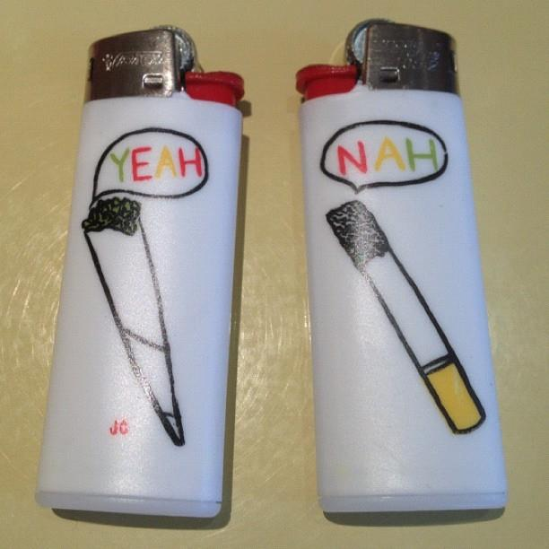 Julia Chiang mini cigarette lighters