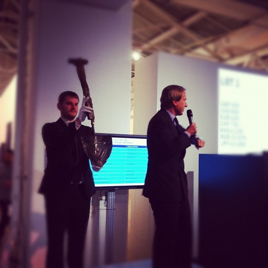 AK47 by Mat Collishaw just sold for £5,000, photo @phillipsdepury