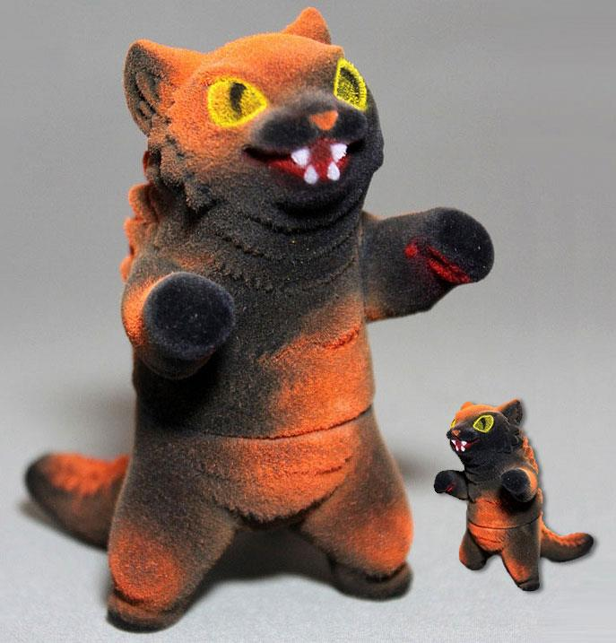 Halloween Flocked Kaiju Negora by Max Toy Co