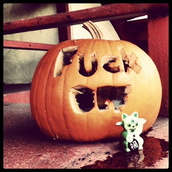 Happy Halloween from Jeremycat Misfortune Cat