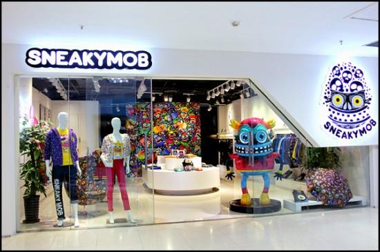 SKWAK x Sneakymob Chengdu, China