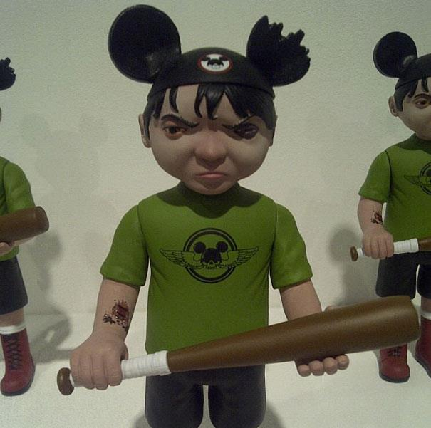 Bob Dob Mouseketeer Army Toy