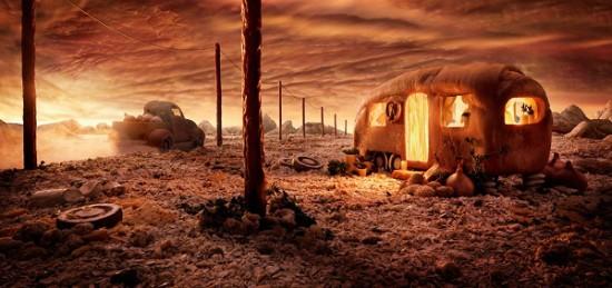 Bread Caravan © Carl Warner