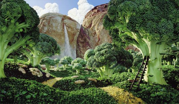 Broccoli Forest © Carl Warner