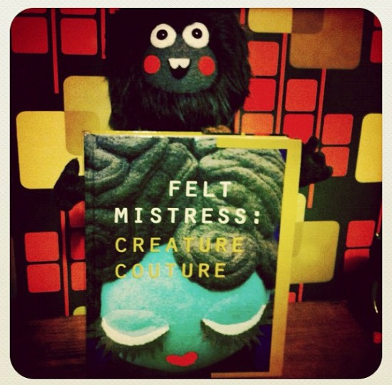 Tippy Winkles and Creature Couture by Felt Mistress