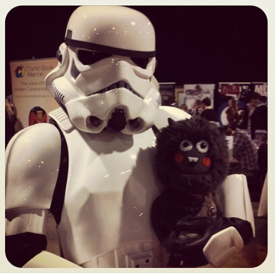 Tippy Winkles by Felt Mistress with Stormtrooper friend