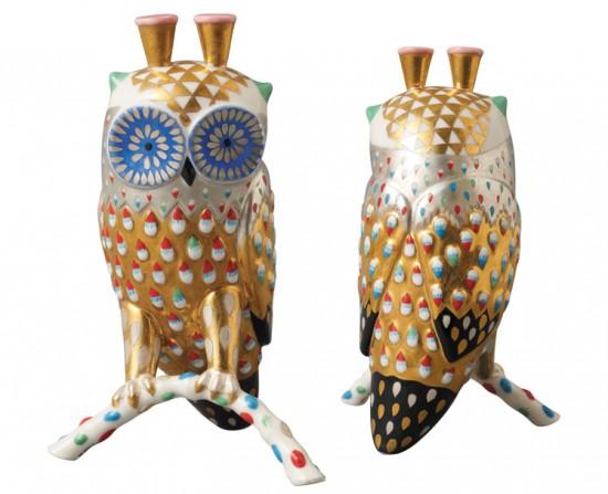 Klaus Haapaniemi ceramic owls