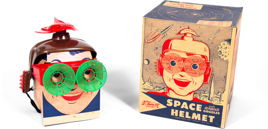Vintage Toy Design: Space Helmet by Banner Plastics (1953)