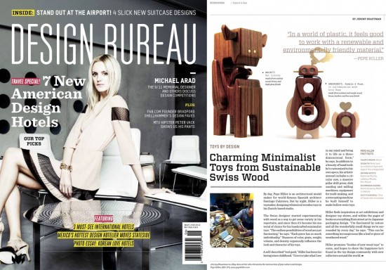 Toys by Design: Pepe Hiller, Design Bureau Magazine May/June