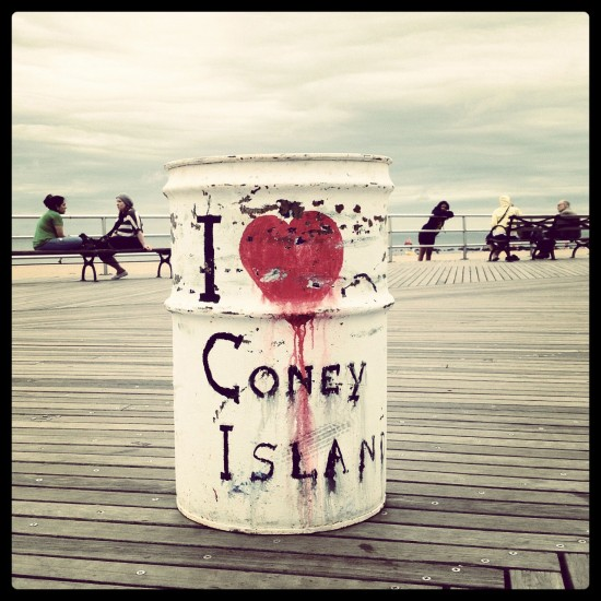 Coney Island, summer 2012 (photo by me)