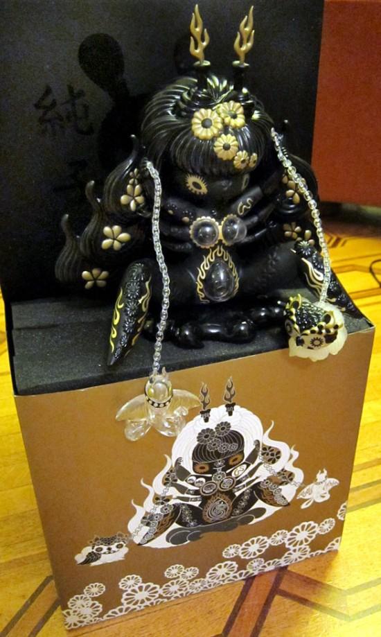 Kuro Megami by Junko Mizuno for Kidrobot Black
